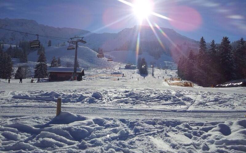 Ausblick von der Terrasse Jochalpin | Haus Alpenblick in Oberjoch